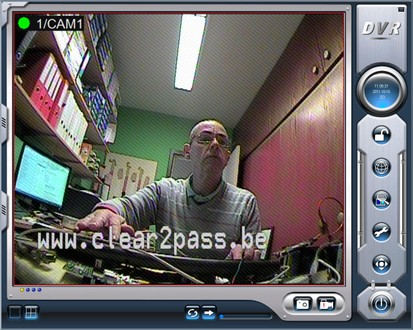 Clear2pass video overlay voor identificatie in uw camera systeem